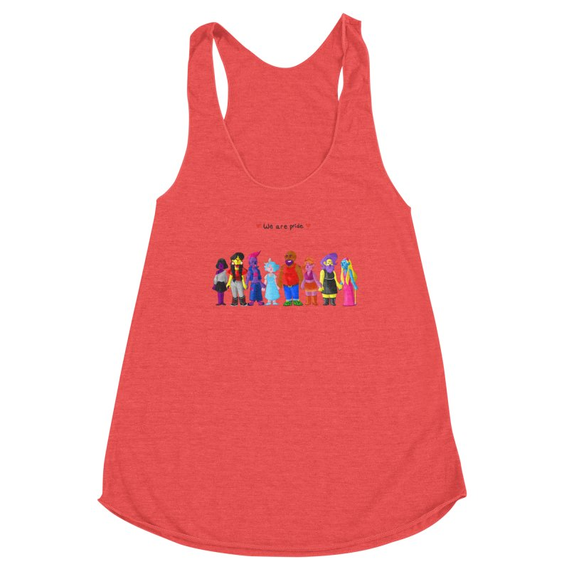 We Are Pride Women's Tank by Drake Jensen's Artist Shop