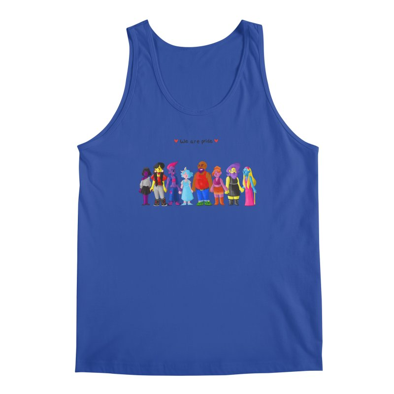 We Are Pride Men's Tank by Drake Jensen's Artist Shop