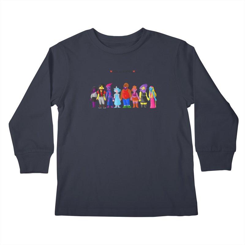 We Are Pride Kids Longsleeve T-Shirt by Drake Jensen's Artist Shop