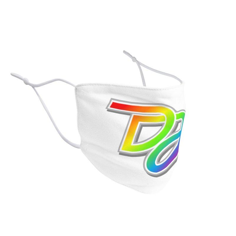 Drake Jensen Pride Logo (Centered) Accessories Face Mask by Drake Jensen's Artist Shop