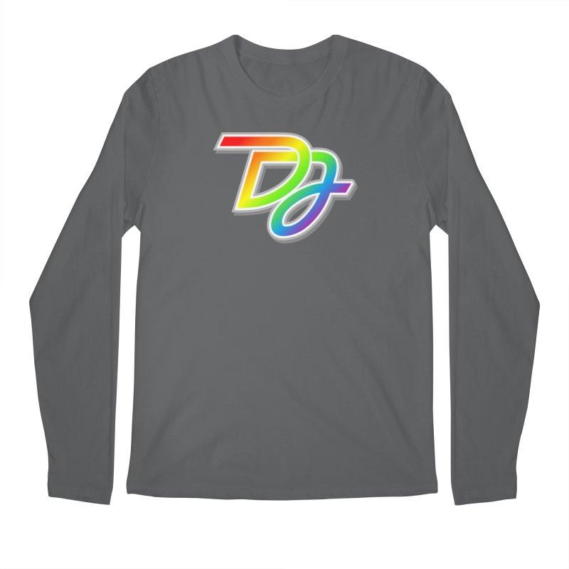 Drake Jensen Pride Logo (Centered) Men's Longsleeve T-Shirt by Drake Jensen's Artist Shop