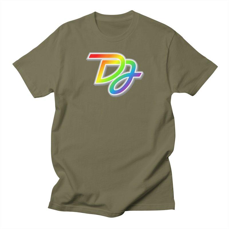 Drake Jensen Pride Logo (Centered) Men's T-Shirt by Drake Jensen's Artist Shop