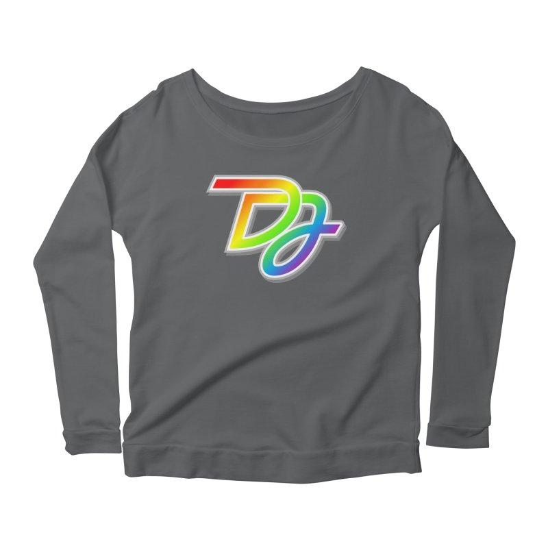 Drake Jensen Pride Logo (Centered) Women's Longsleeve T-Shirt by Drake Jensen's Artist Shop