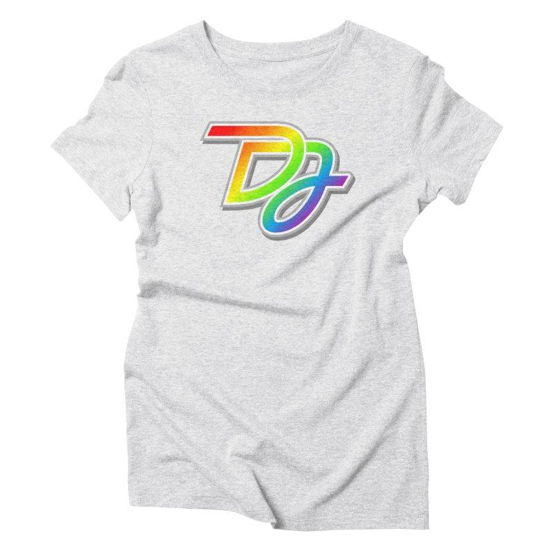 Drake Jensen Pride Logo (Centered) Women's T-Shirt by Drake Jensen's Artist Shop