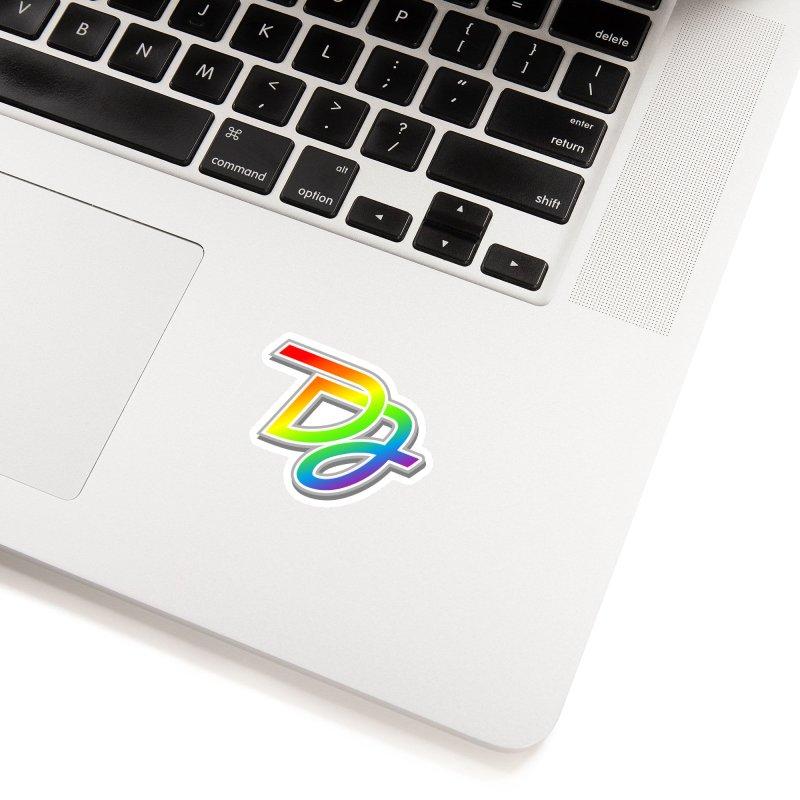 Drake Jensen Pride Logo (Centered) Accessories Sticker by Drake Jensen's Artist Shop