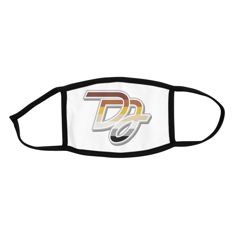 Drake Jensen Bear Pride Logo (Centered) Accessories Face Mask by Drake Jensen's Artist Shop