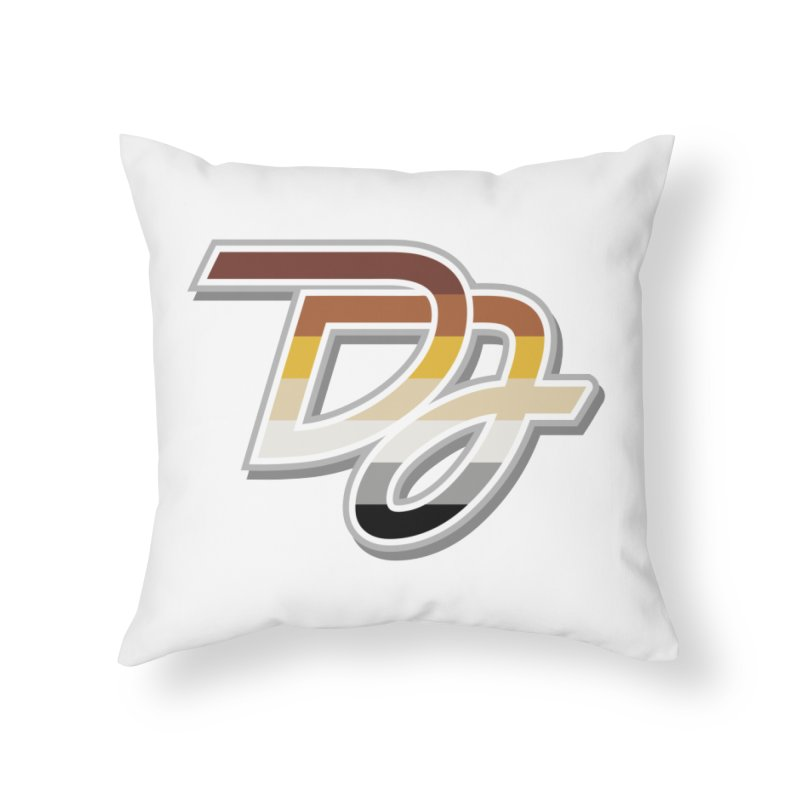 Drake Jensen Bear Pride Logo (Centered) Home Throw Pillow by Drake Jensen's Artist Shop