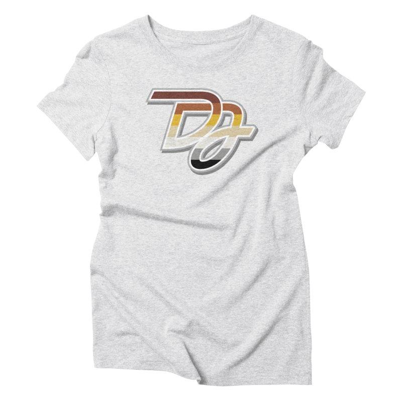 Drake Jensen Bear Pride Logo (Centered) Women's T-Shirt by Drake Jensen's Artist Shop