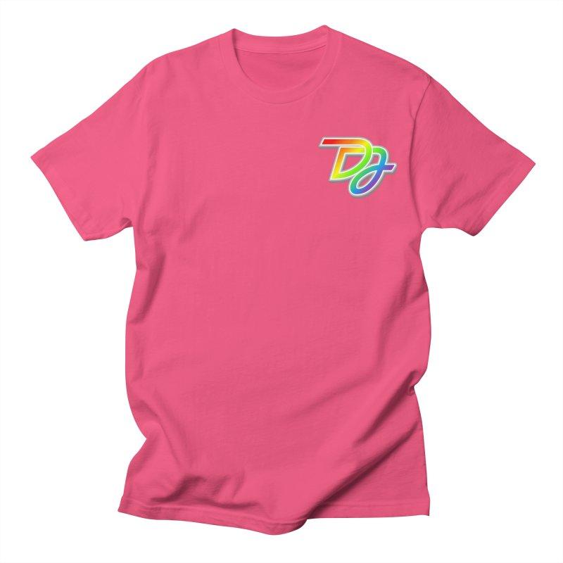 Drake Jensen Pride Logo (Breast) Men's T-Shirt by Drake Jensen's Artist Shop
