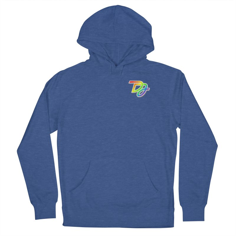 Drake Jensen Pride Logo (Breast) Men's Pullover Hoody by Drake Jensen's Artist Shop