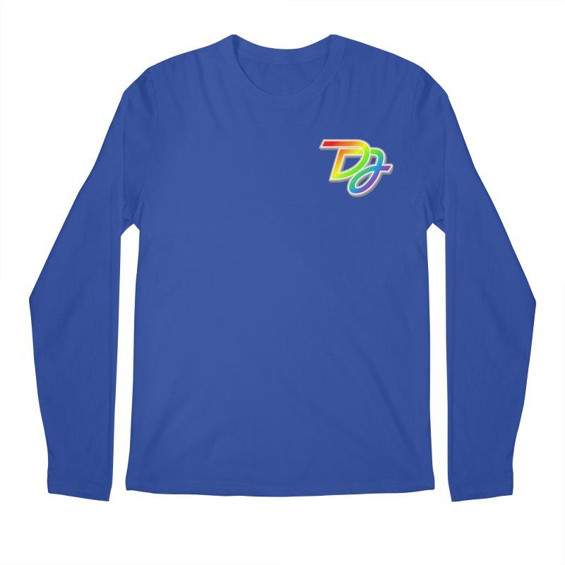 Drake Jensen Pride Logo (Breast) Men's Longsleeve T-Shirt by Drake Jensen's Artist Shop