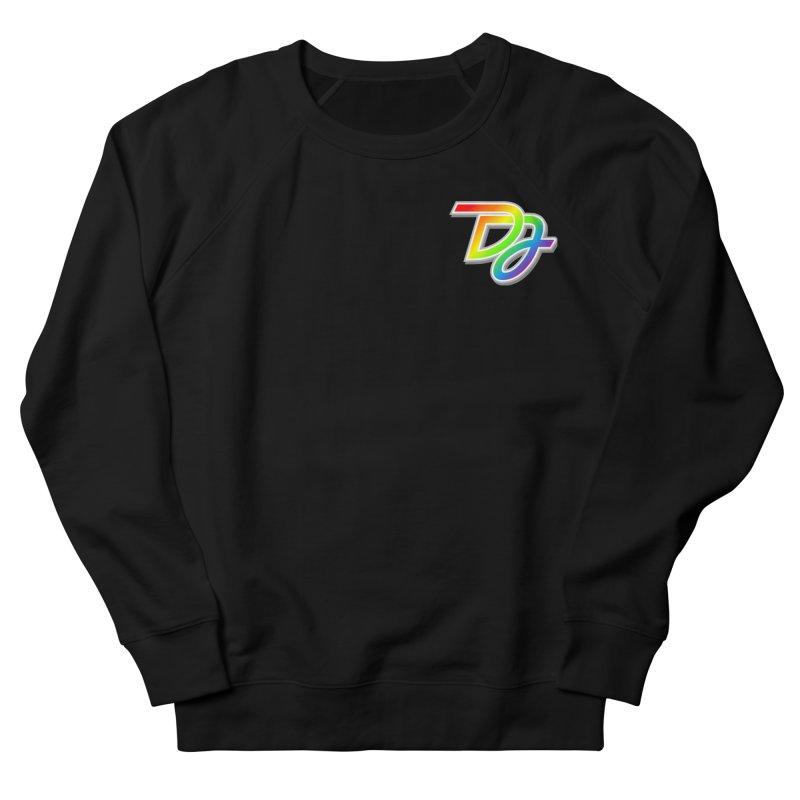 Drake Jensen Pride Logo (Breast) Men's Sweatshirt by Drake Jensen's Artist Shop