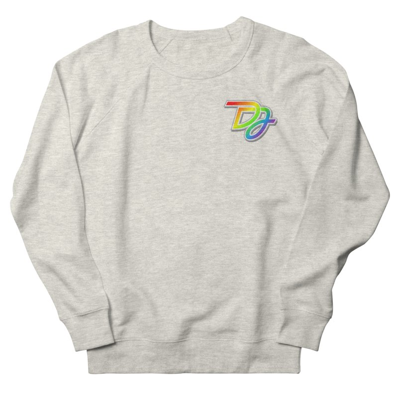 Drake Jensen Pride Logo (Breast) Men's Sweatshirt by Drake Jensen's Artist Shop