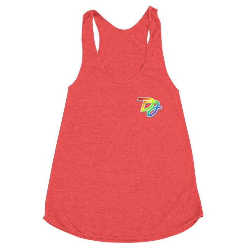 Drake Jensen Pride Logo (Breast) Women's Tank by Drake Jensen's Artist Shop