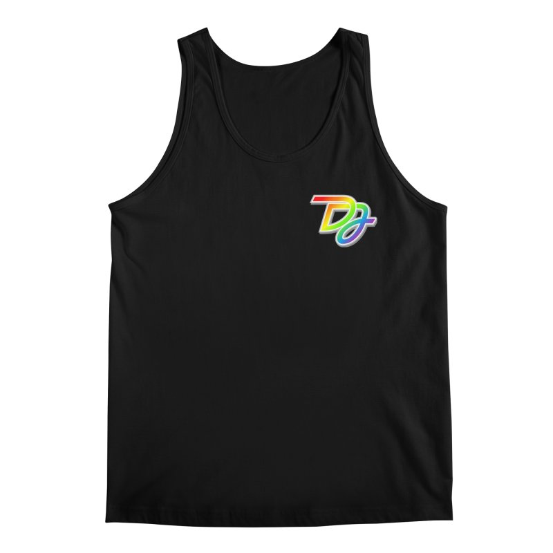 Drake Jensen Pride Logo (Breast) Men's Tank by Drake Jensen's Artist Shop