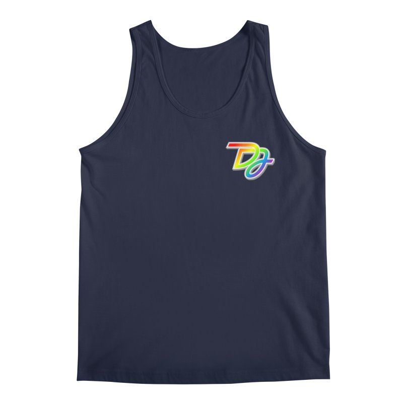 Drake Jensen Pride Logo (Breast) Men's Tank by Drake Jensen's Artist Shop