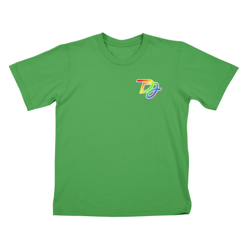Drake Jensen Pride Logo (Breast) Kids T-Shirt by Drake Jensen's Artist Shop