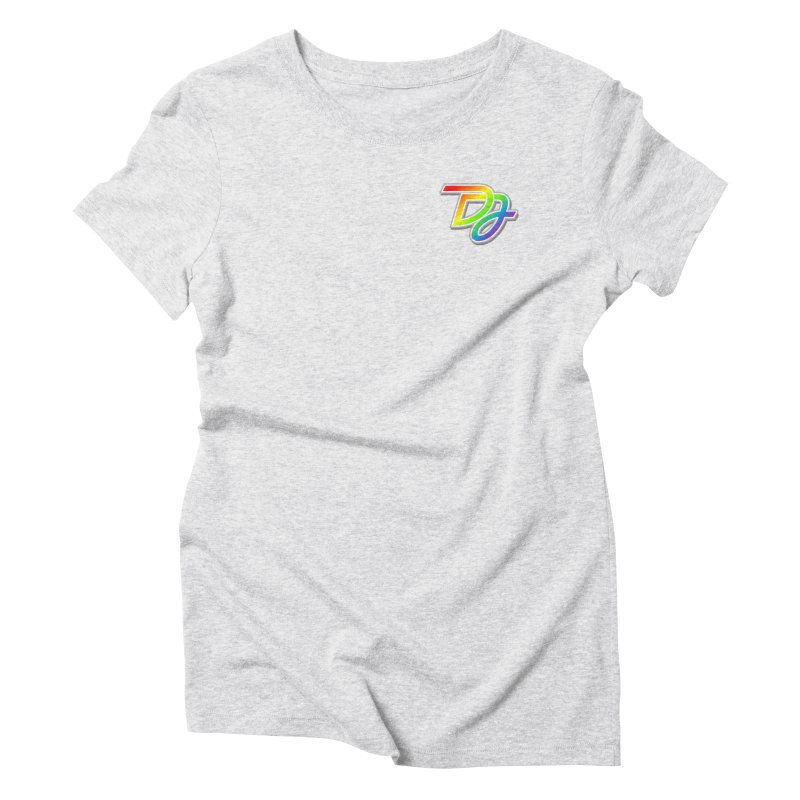 Drake Jensen Pride Logo (Breast) Women's T-Shirt by Drake Jensen's Artist Shop