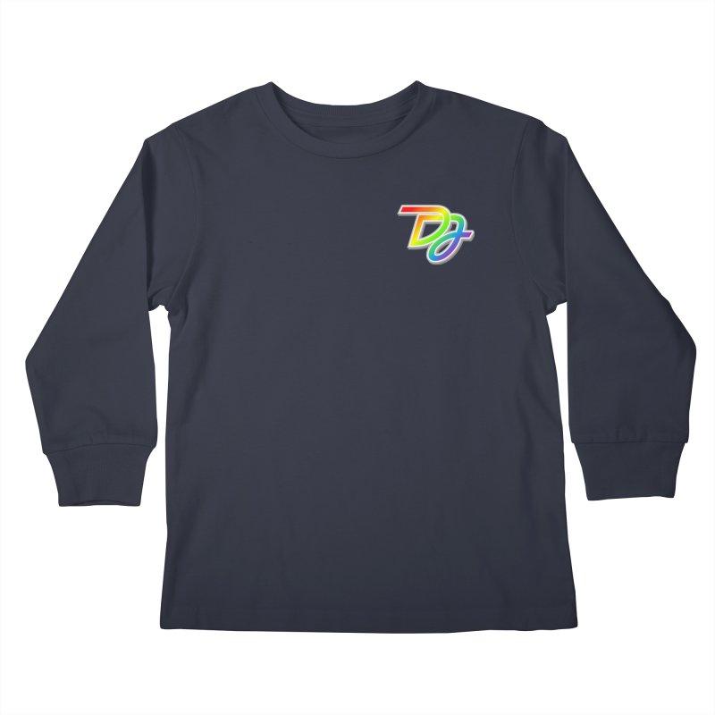 Drake Jensen Pride Logo (Breast) Kids Longsleeve T-Shirt by Drake Jensen's Artist Shop