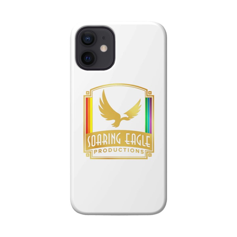 Soaring Eagle Productions (Centered) Accessories Phone Case by Drake Jensen's Artist Shop