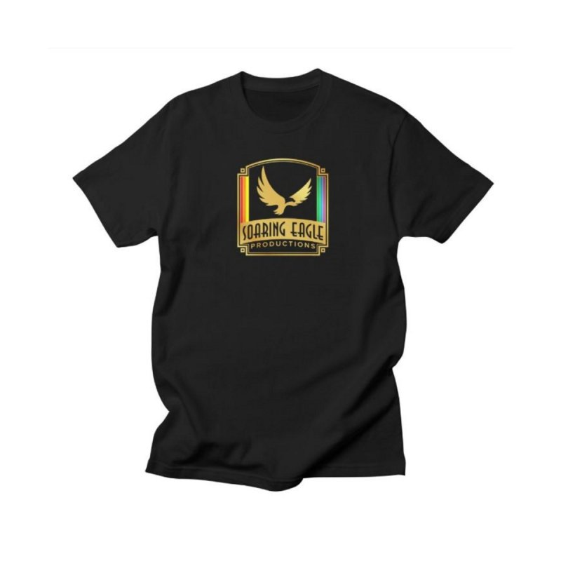 Soaring Eagle Productions (Centered) Men's T-Shirt by Drake Jensen's Artist Shop
