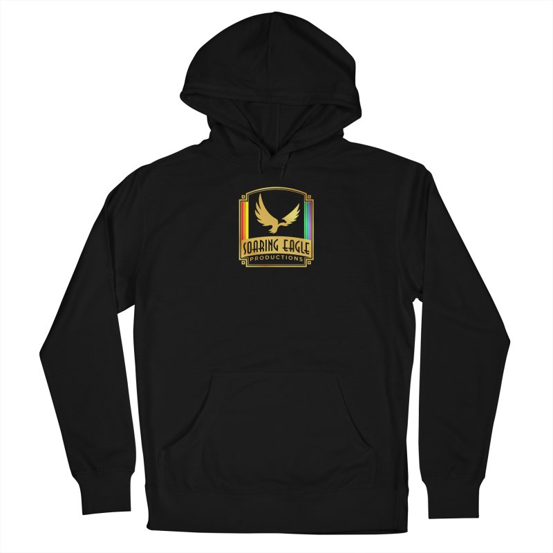 Soaring Eagle Productions (Centered) Men's Pullover Hoody by Drake Jensen's Artist Shop