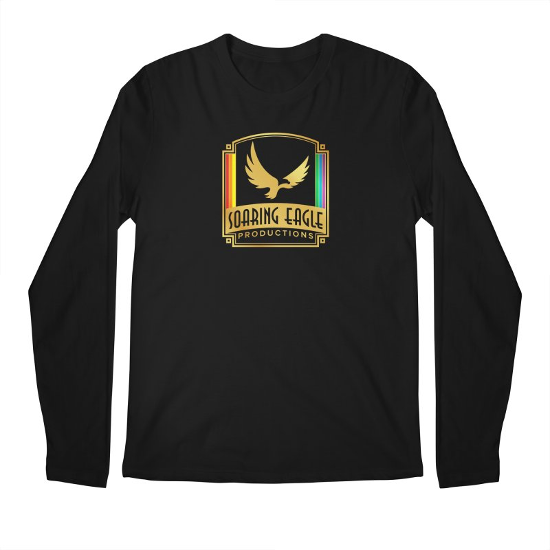 Soaring Eagle Productions (Centered) Men's Longsleeve T-Shirt by Drake Jensen's Artist Shop