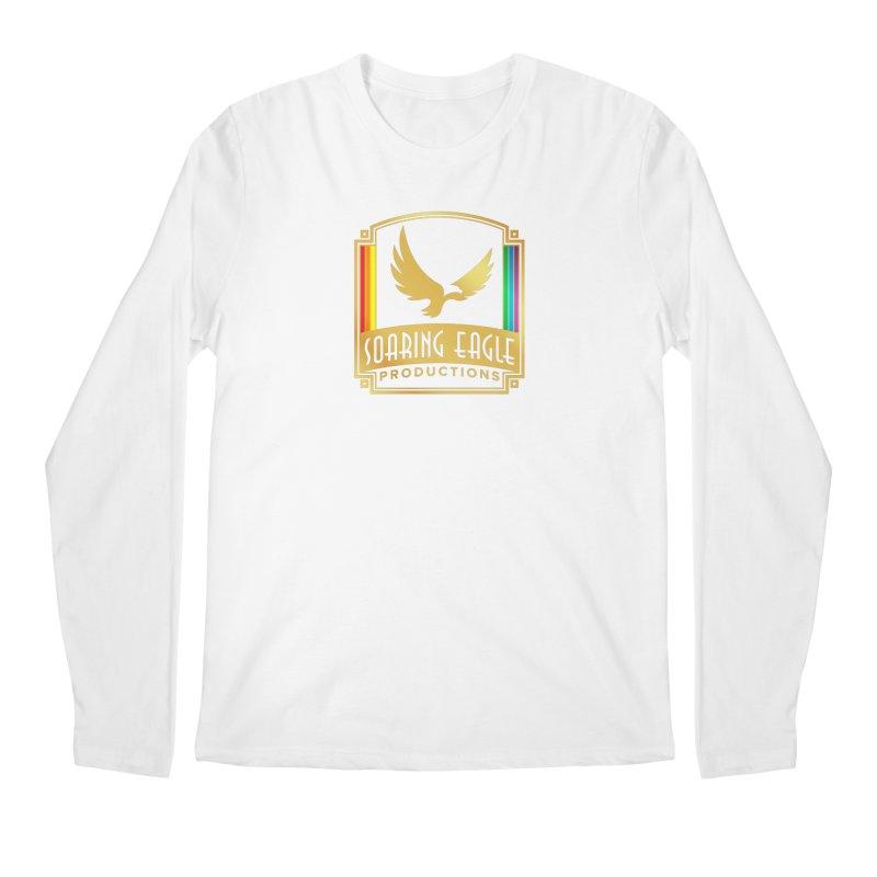 Soaring Eagle Productions (Centered) Men's Longsleeve T-Shirt by Drake Jensen's Artist Shop