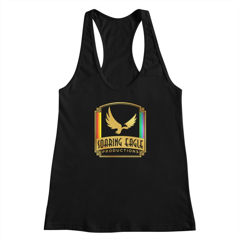 Soaring Eagle Productions (Centered) Women's Tank by Drake Jensen's Artist Shop