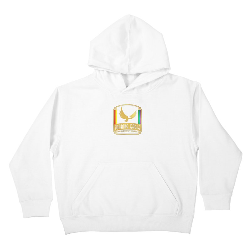 Soaring Eagle Productions (Centered) Kids Pullover Hoody by Drake Jensen's Artist Shop