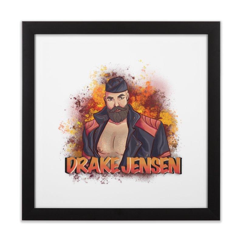 Drake Jensen Animated (Centered) Home Framed Fine Art Print by Drake Jensen's Artist Shop