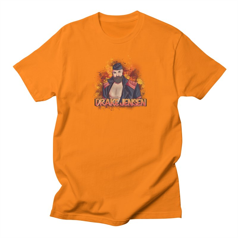 Drake Jensen Animated (Centered) Men's T-Shirt by Drake Jensen's Artist Shop