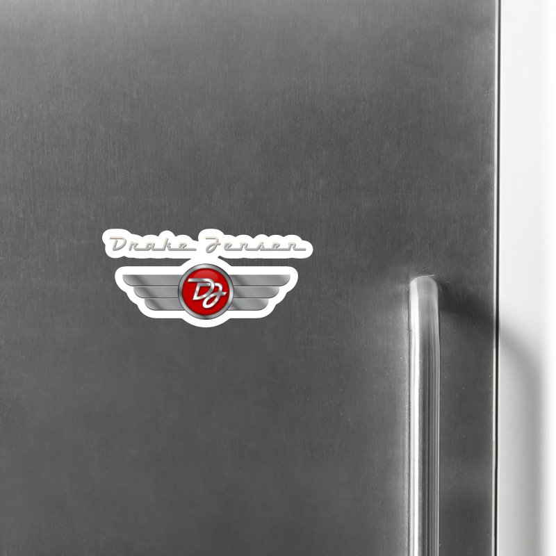 Drake Jensen Wings (Centered) Accessories Magnet by Drake Jensen's Artist Shop