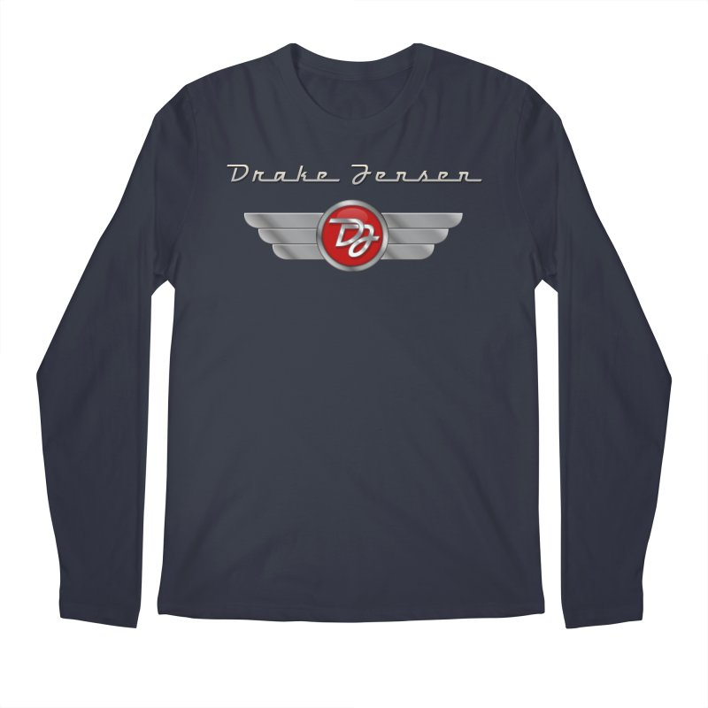 Drake Jensen Wings (Centered) Men's Longsleeve T-Shirt by Drake Jensen's Artist Shop