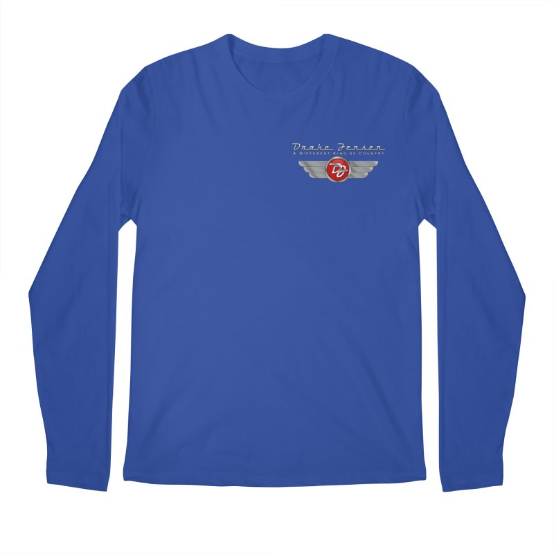 Drake Jensen Wings (Breast) Men's Longsleeve T-Shirt by Drake Jensen's Artist Shop