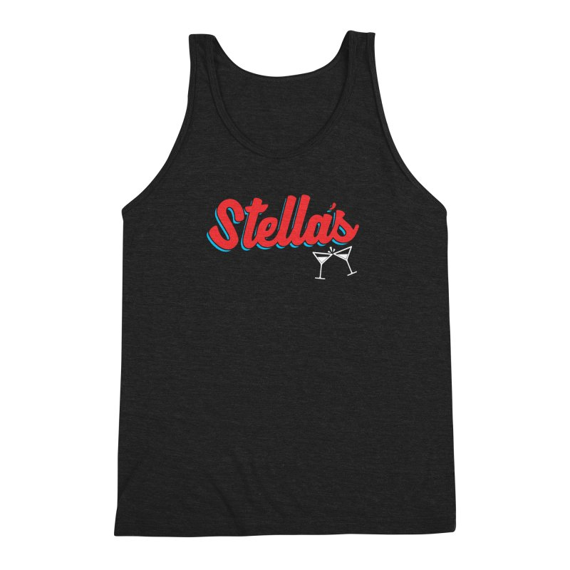 stella's tap softball jersey Men's Triblend Tank by dramgus's Artist Shop
