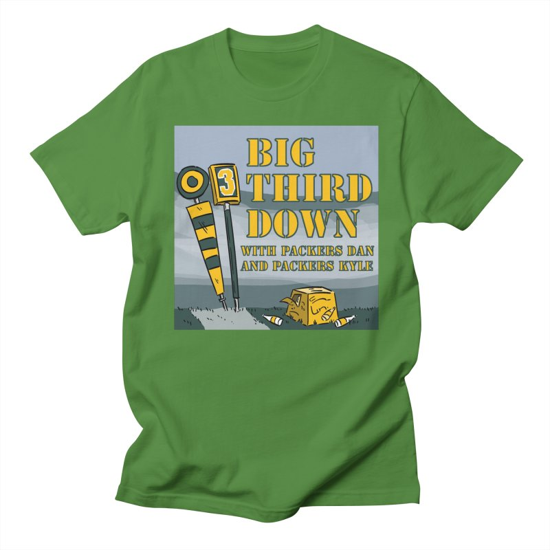 Big Third Down, with Packers Dan and Packers Kyle Men's T-Shirt by dramgus's Artist Shop