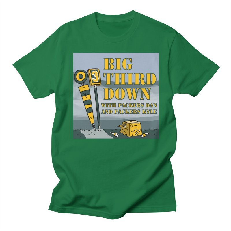 Big Third Down, with Packers Dan and Packers Kyle Women's Regular Unisex T-Shirt by dramgus's Artist Shop