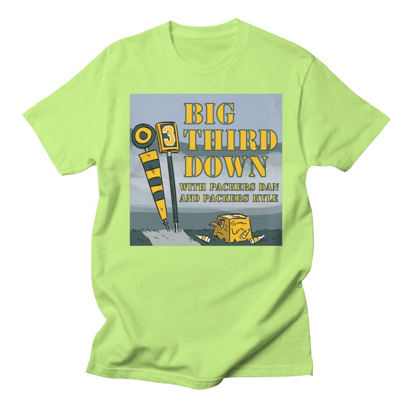 Big Third Down, with Packers Dan and Packers Kyle Women's Unisex T-Shirt by dramgus's Artist Shop