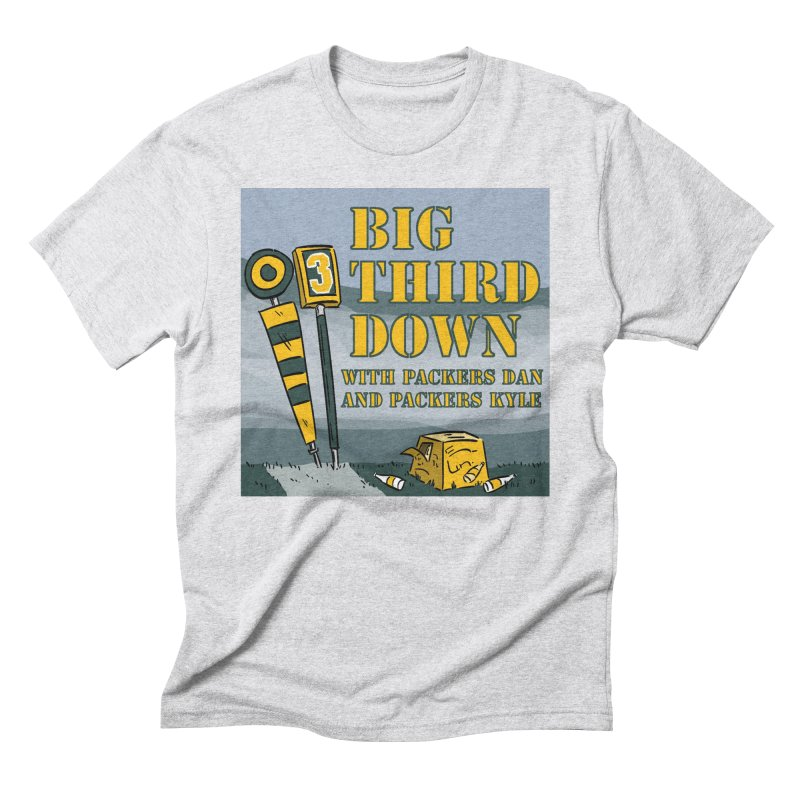 Big Third Down, with Packers Dan and Packers Kyle Men's Triblend T-Shirt by dramgus's Artist Shop