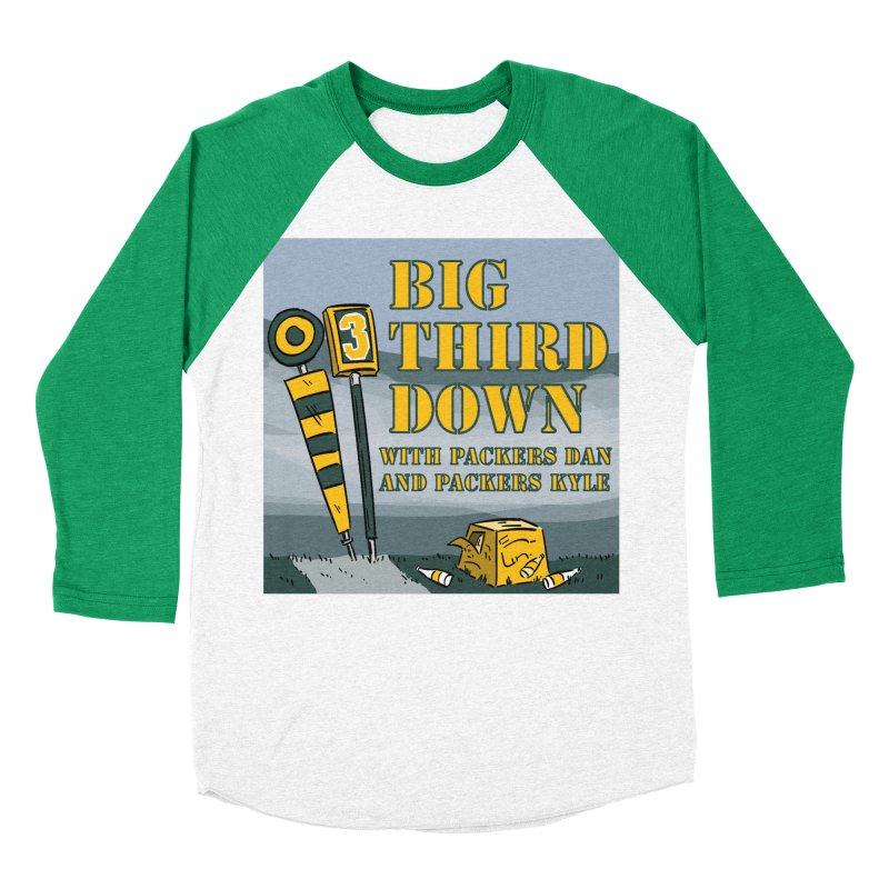 Big Third Down, with Packers Dan and Packers Kyle Women's Baseball Triblend T-Shirt by dramgus's Artist Shop