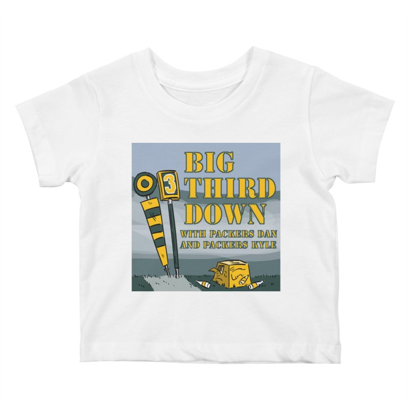 Big Third Down, with Packers Dan and Packers Kyle Kids Baby T-Shirt by dramgus's Artist Shop