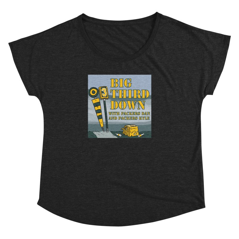 Big Third Down, with Packers Dan and Packers Kyle Women's Dolman by dramgus's Artist Shop