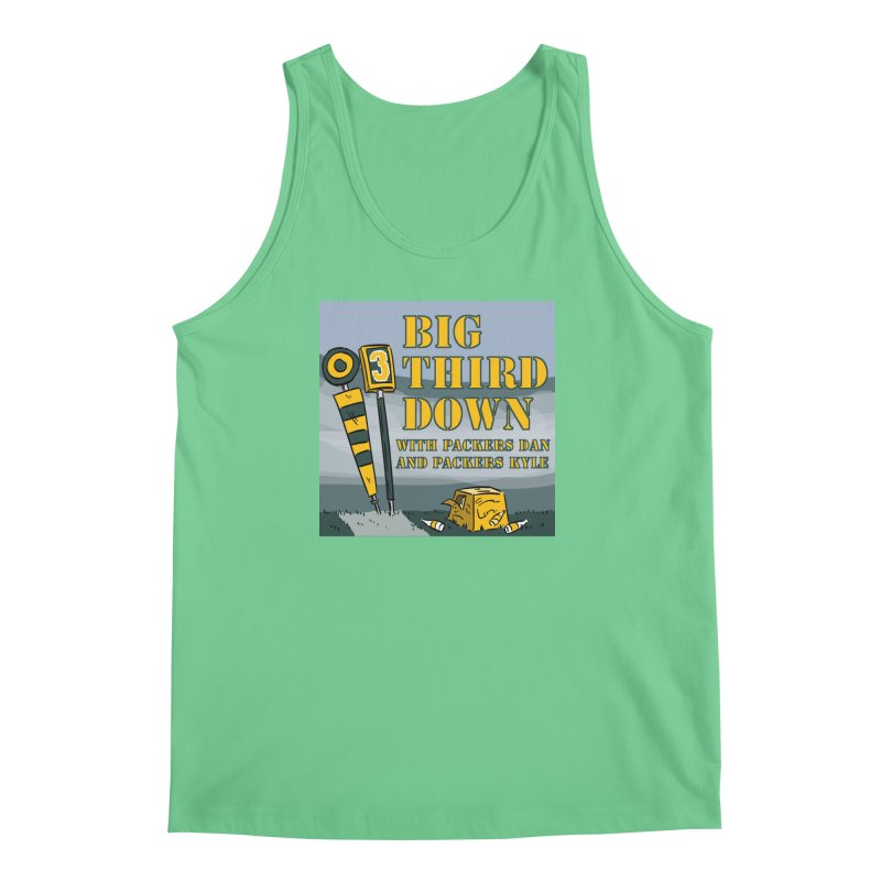 Big Third Down, with Packers Dan and Packers Kyle Men's Tank by dramgus's Artist Shop