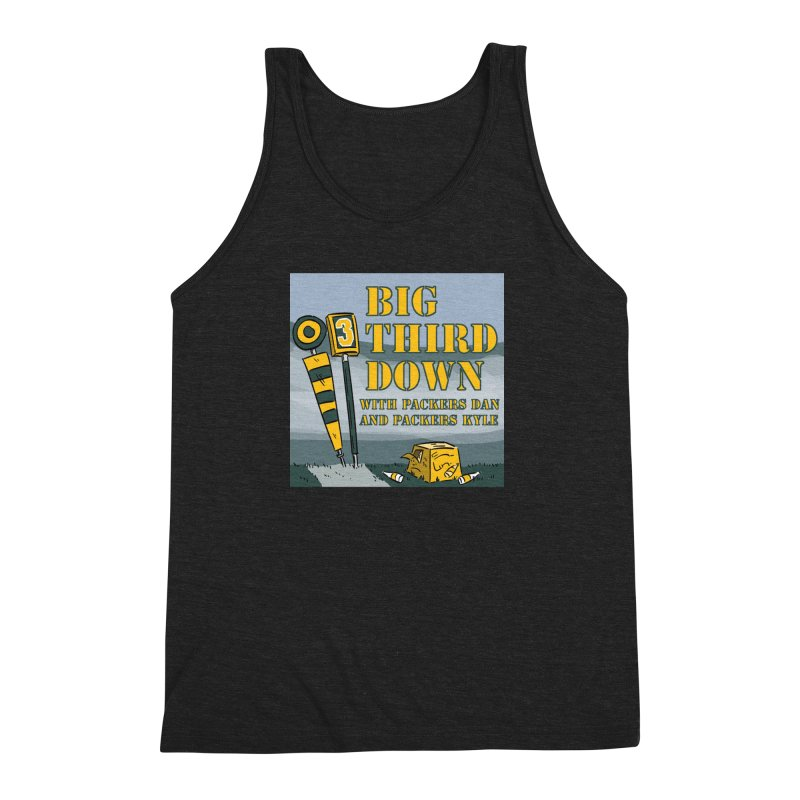 Big Third Down, with Packers Dan and Packers Kyle Men's Triblend Tank by dramgus's Artist Shop