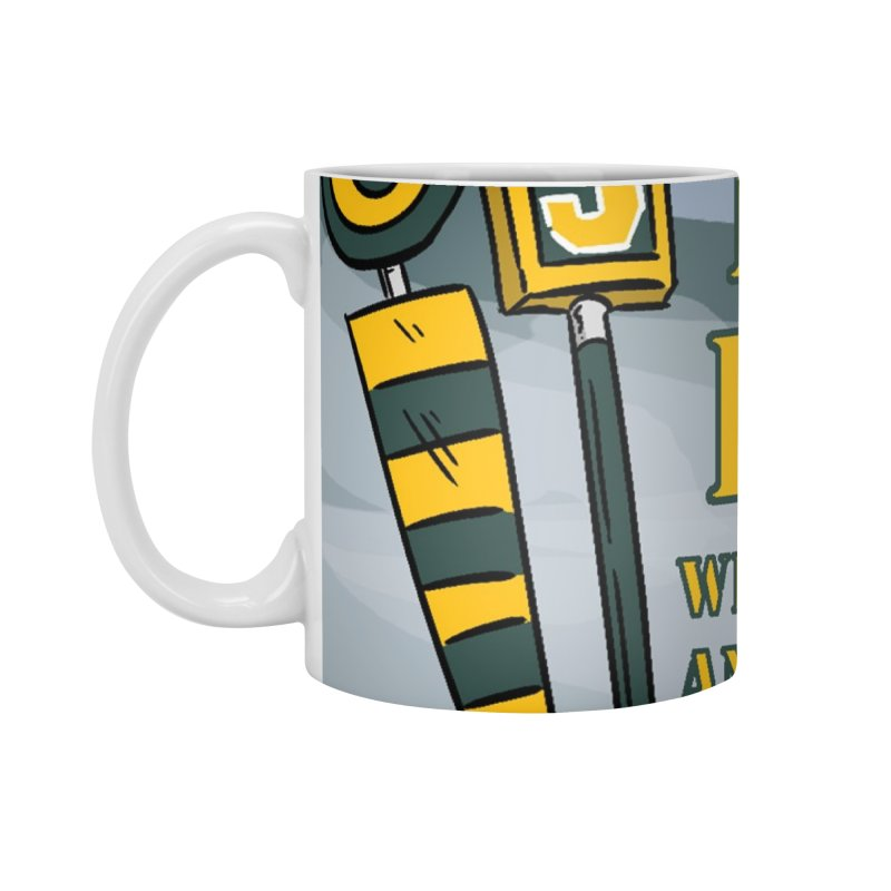 Big Third Down, with Packers Dan and Packers Kyle Accessories Mug by dramgus's Artist Shop