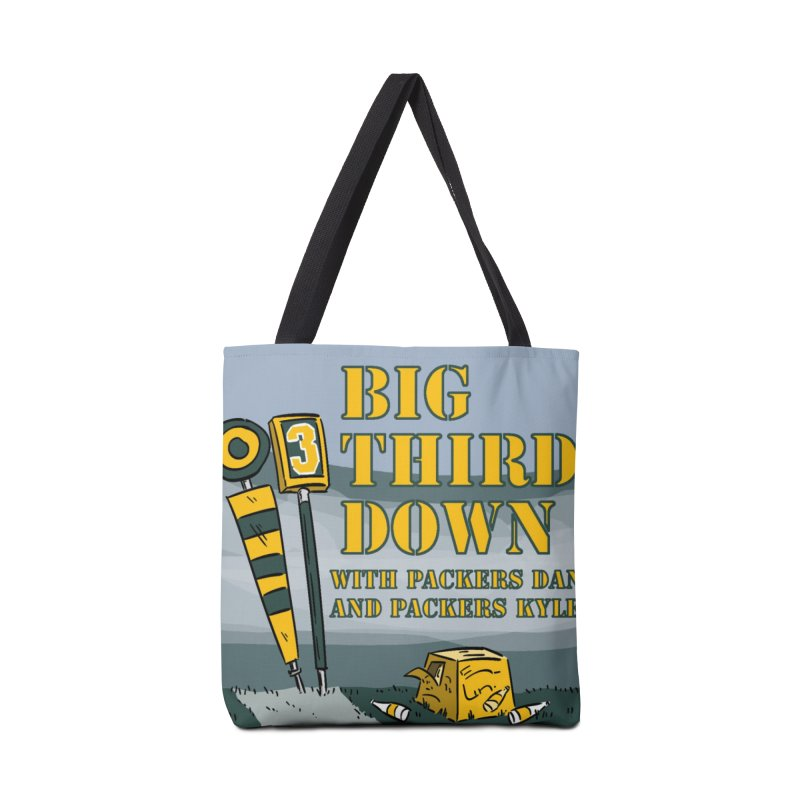 Big Third Down, with Packers Dan and Packers Kyle Accessories Bag by dramgus's Artist Shop