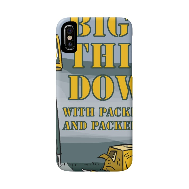 Big Third Down, with Packers Dan and Packers Kyle Accessories Phone Case by dramgus's Artist Shop