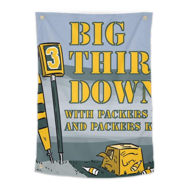 Big Third Down, with Packers Dan and Packers Kyle Home Tapestry by dramgus's Artist Shop