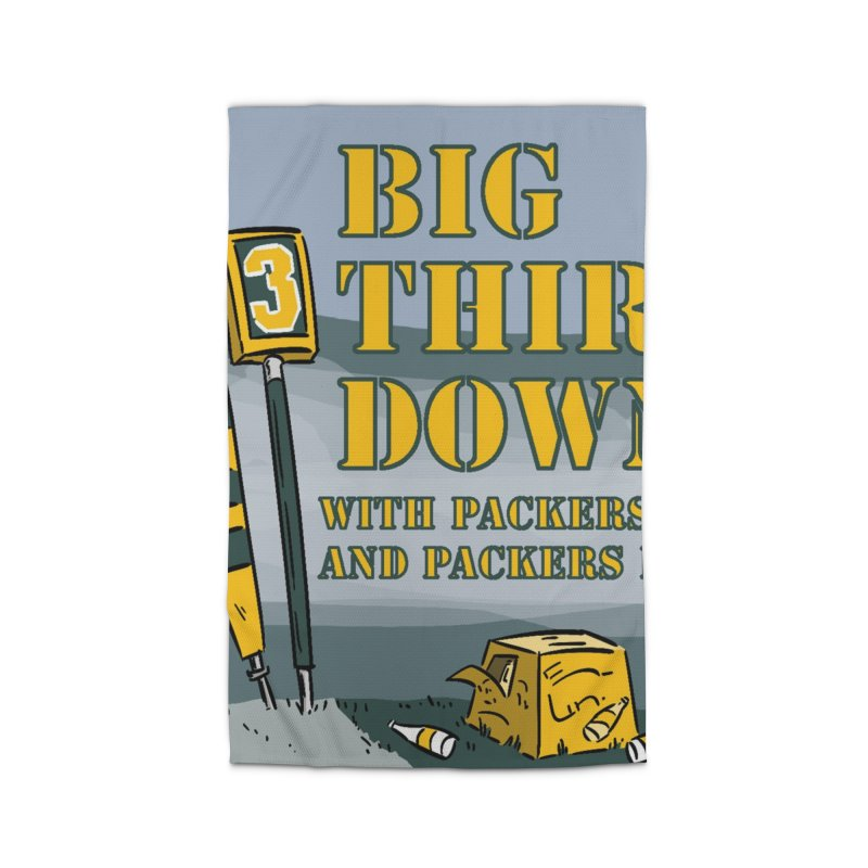Big Third Down, with Packers Dan and Packers Kyle Home Rug by dramgus's Artist Shop